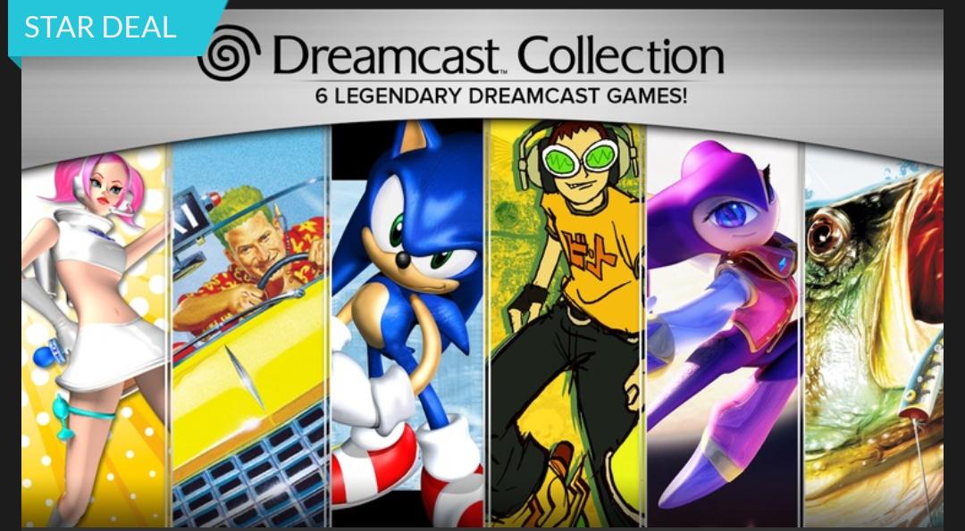 SEGA Dreamcast Collection (Steam) für 3,99€ @Fanatical