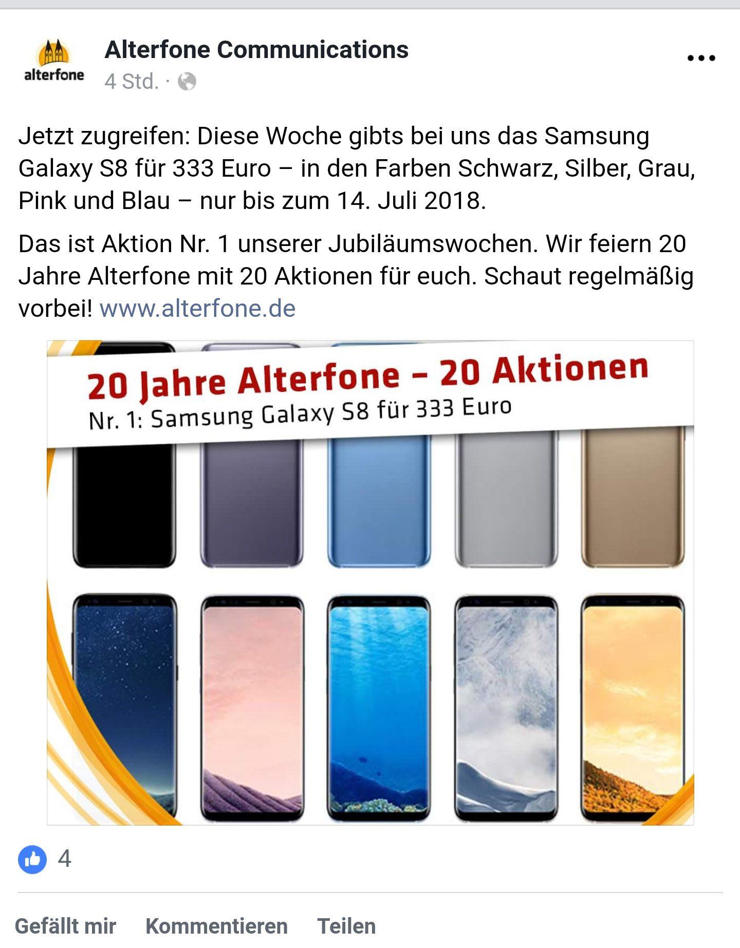 (Lokal Freising) Samsung Galaxy S8