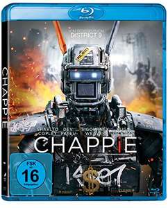 Chappie (Mastered in 4K Blu-ray + UV Copy) für 5€ (Amazon Prime)
