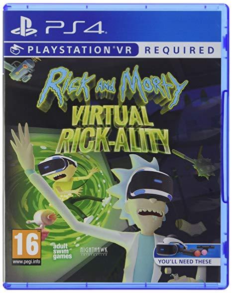 Rick and Morty: Virtual Rick-ality (PS4 VR)