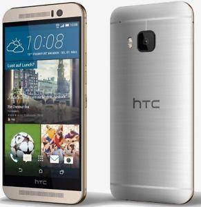 """[HTC One M9] Gold on Silver - 5"""" FullHD-Display, 64Bit OctaCore-CPU, 3GB RAM, 20MP Kamera, 32GB Speicher, LTE"""