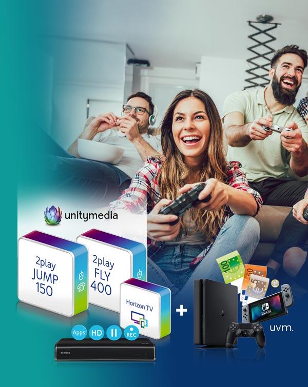 unitymedia 150.000 mit Prämie ab effektiv 14,54€ mtl. Für Wechsler sogar bis zu 12 Monate gratis.