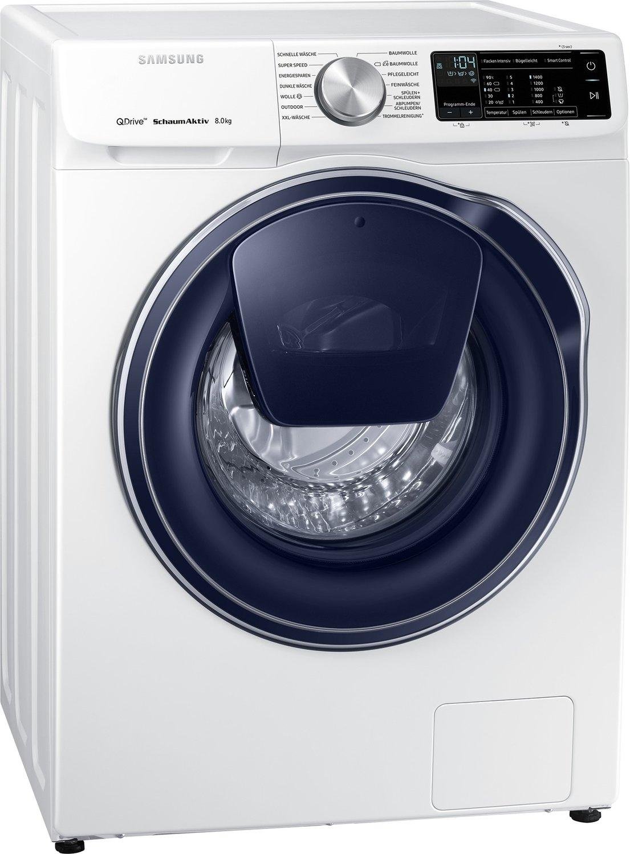 Samsung Waschmaschine WW81M642OPW/EG (8kg, A+++, Frontlader mit Nachfüllklappe (AddWash), 1400U/min, App-Steuerung)