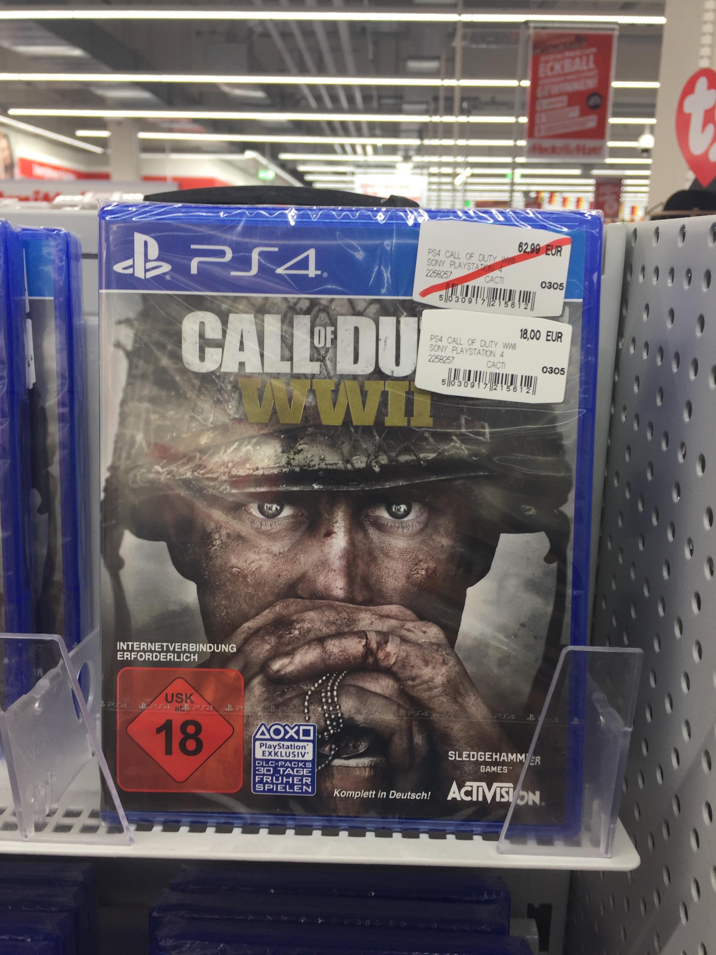 [LOKAL] Call of Duty: WWII für 18€ MM-Unterföhring