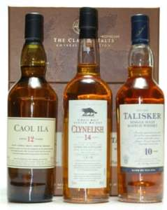 Classics Malts of Scotland - Coastel Set (Kleine Whisky-Sammlung)