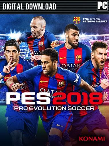 Pro Evolution Soccer (PES) 2018 - Standard Edition PC @ .Cdkeys.