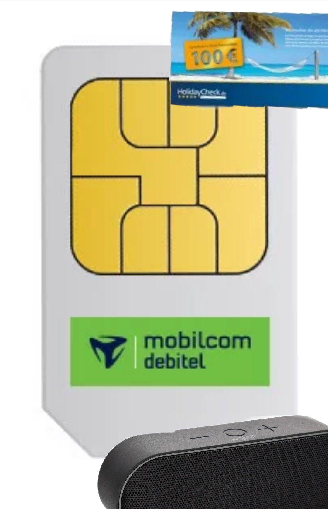 [MD] Telefónica Smart Surf (1GB LTE) + 100€ Holiday Check Gutschein