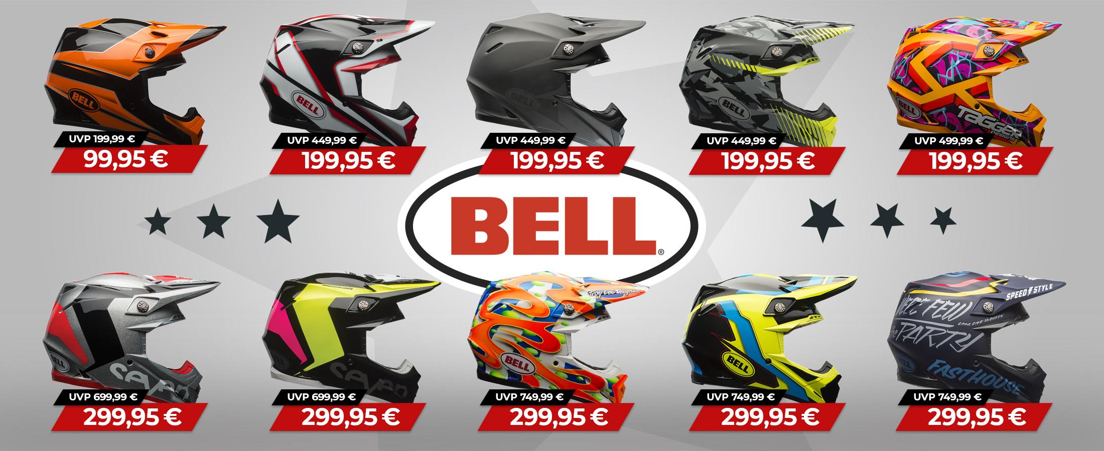 Bell Helme extrem reduziert