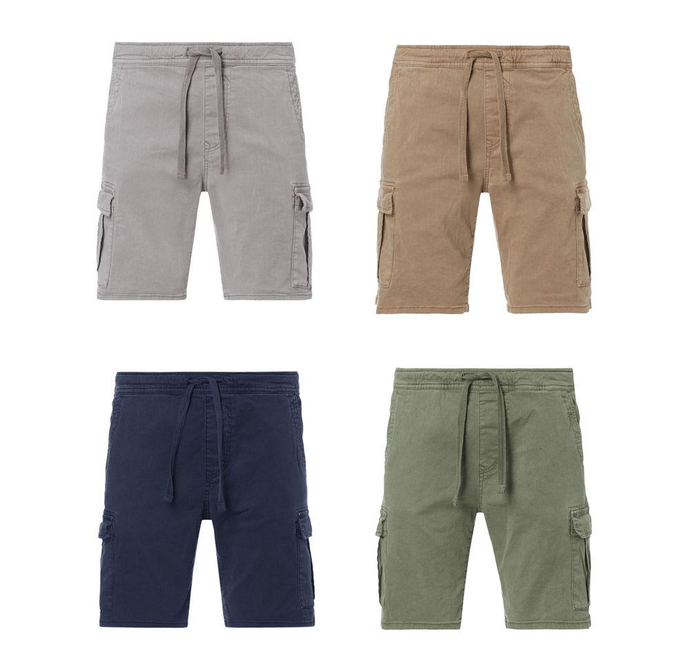 Tom Tailor Herren Cargo Shorts Bermuda kurze Hose