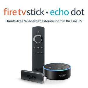 Amazon Fire TV Stick + Amazon Echo Dot für 59,98€ [Amazon Prime]