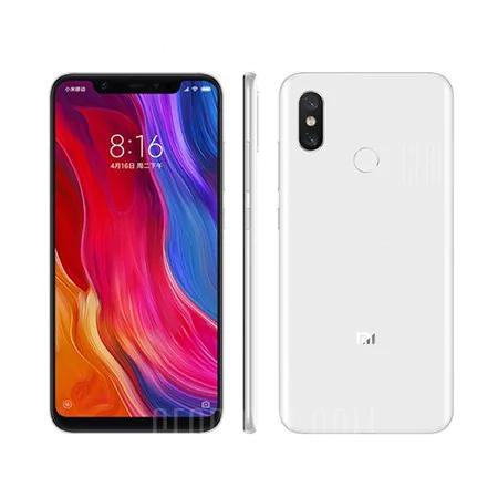 Xiaomi Mi 8 4G - WHITE 6GB RAM 128GB ROM Fingerprint Sensor 3400mAh Mi8