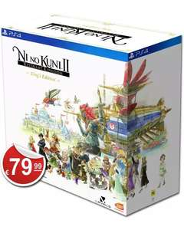 Ni No Kuni 2: Schicksal eines Königreichs King's Edition (PS4)