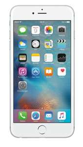 """[Blitzdeal] Apple iPhone 6s Plus 128GB Silber [13,94cm (5,5"""") Retina HD Display, iOS 10, A9, 12MP, 3D-Touch] // Mit Masterpass 314,00€"""