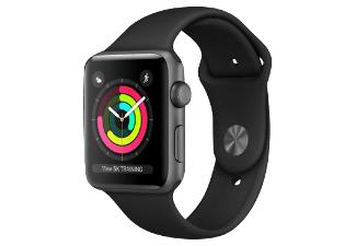 Apple Watch Series 3 GPS 42mm + Beats X Kopfhörer (Saturn)