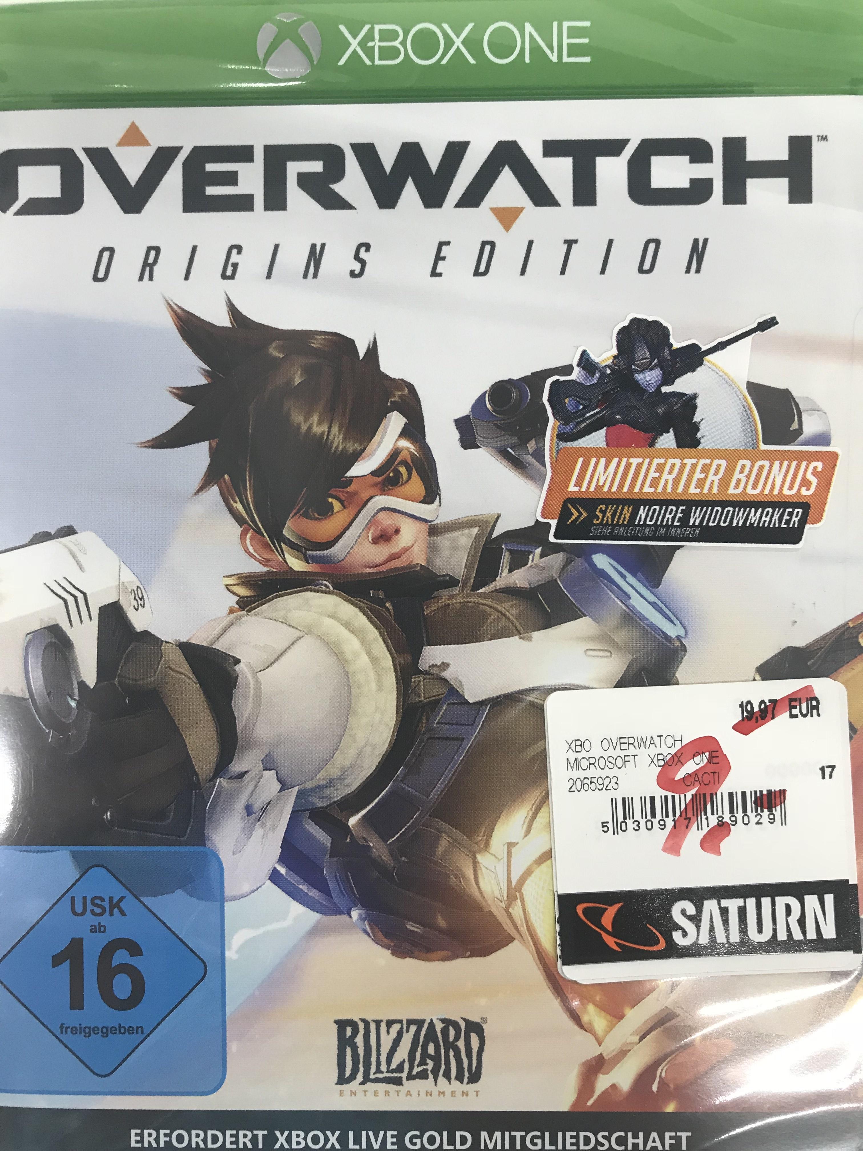 Lokal Saturn Oldenburg Overwatch Origins Edition