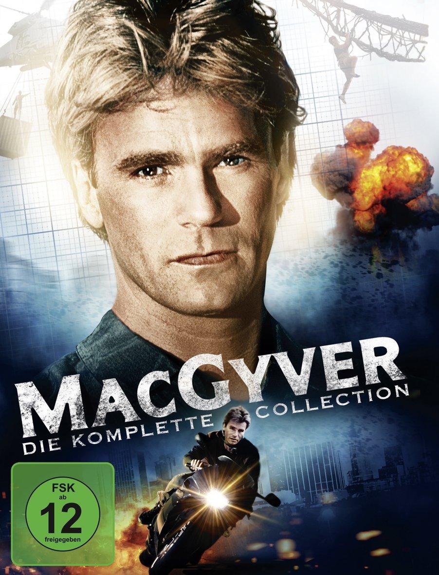 MacGyver - Die komplette Collection (38 Discs DVD) & Monk - Die komplette Serie (32 Discs DVD) für je 28,34€ (Thalia)