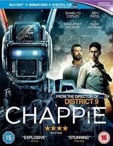 Chappie (Blu-ray + Bonus Disc + Digitale Kopie) für 4,05€ (Zoom.co.uk)