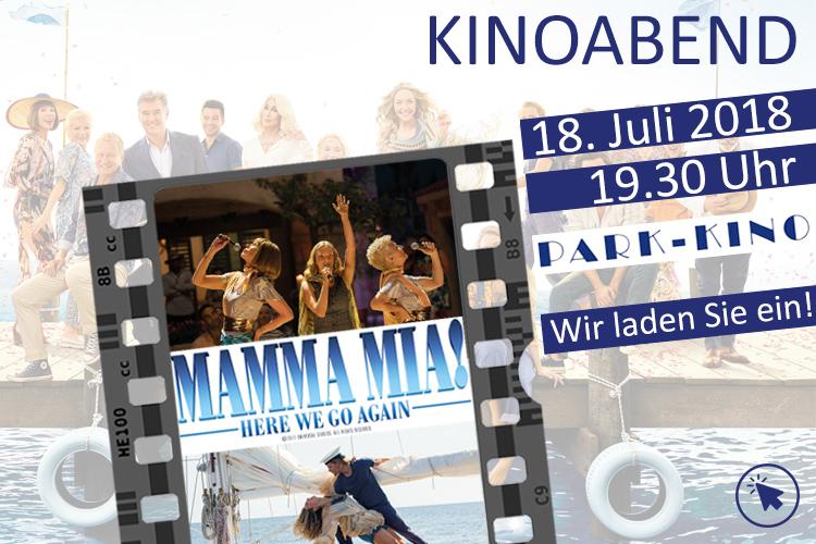 """[ lokal Bad Reichenhall ] Kostenlos zu zweit ins Kino zu """"Mamma Mia 2"""" am 18.Juli um 20:30"""
