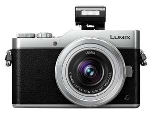 Panasonic Lumix DC-GX800 Kit 12-32 mm silber