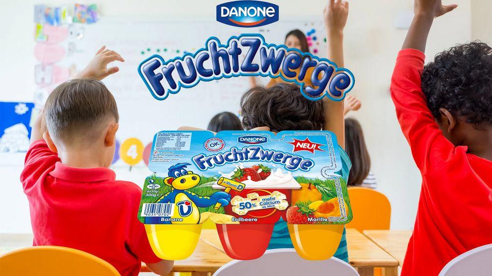 0,40 € Cashback bei Marktguru auf Danone Fruchtzwerge - 0,99 € bei HIT