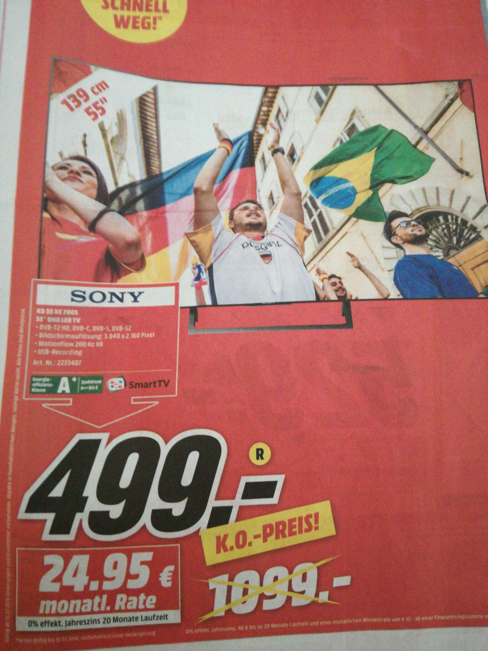 Sony KD 55 XE 7005 [lokal] [Koblenz]