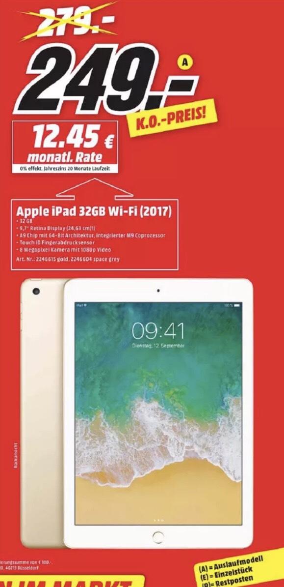 [Lokal MM Bochum,Castrop] Apple iPad 2017 32GB WiFi