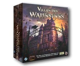 Villen des Wahnsinns 2. Edition Straßen von Arkham Erweiterung Brettspiel Gesellschaftsspiel