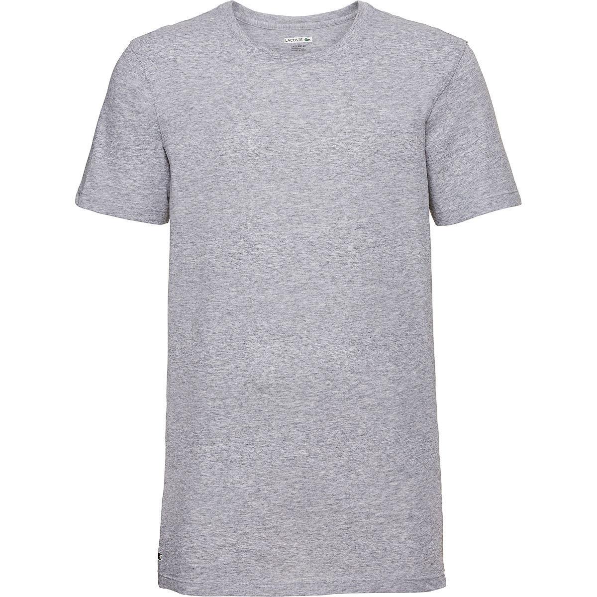 Lacoste Herren-Rundhals-Shirts 3er Pack 19,99€ = 49% billiger als UVP