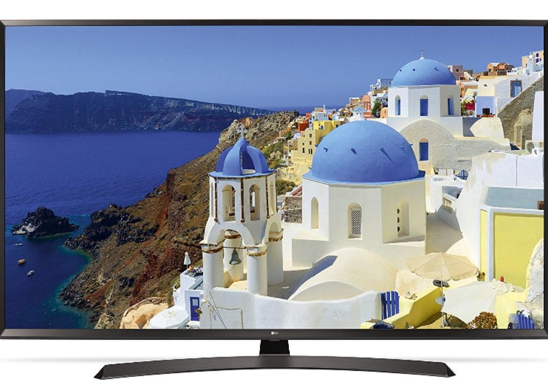 LG 49UJ634V 123 cm (49 Zoll) 4K Fernseher (UHD, Triple Tuner, Active HDR, Smart TV)