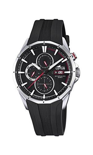 [Amazon.es] Sportliche Lotus Herren Armbanduhr 18320/4 schwarz