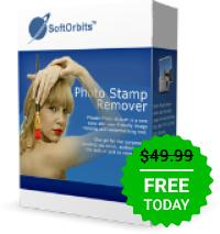 Werbegeschenk des Tages - Foto Stempel Remover 9.1 Ein Fotokorrektur-Dienstprogramm, das unerwünschte Objekte von Fotos entfernen kann.
