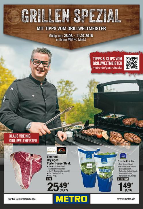 Sommer = Grillzeit - Dry Aged Beef Porterhouse Steak für den MANN :-)