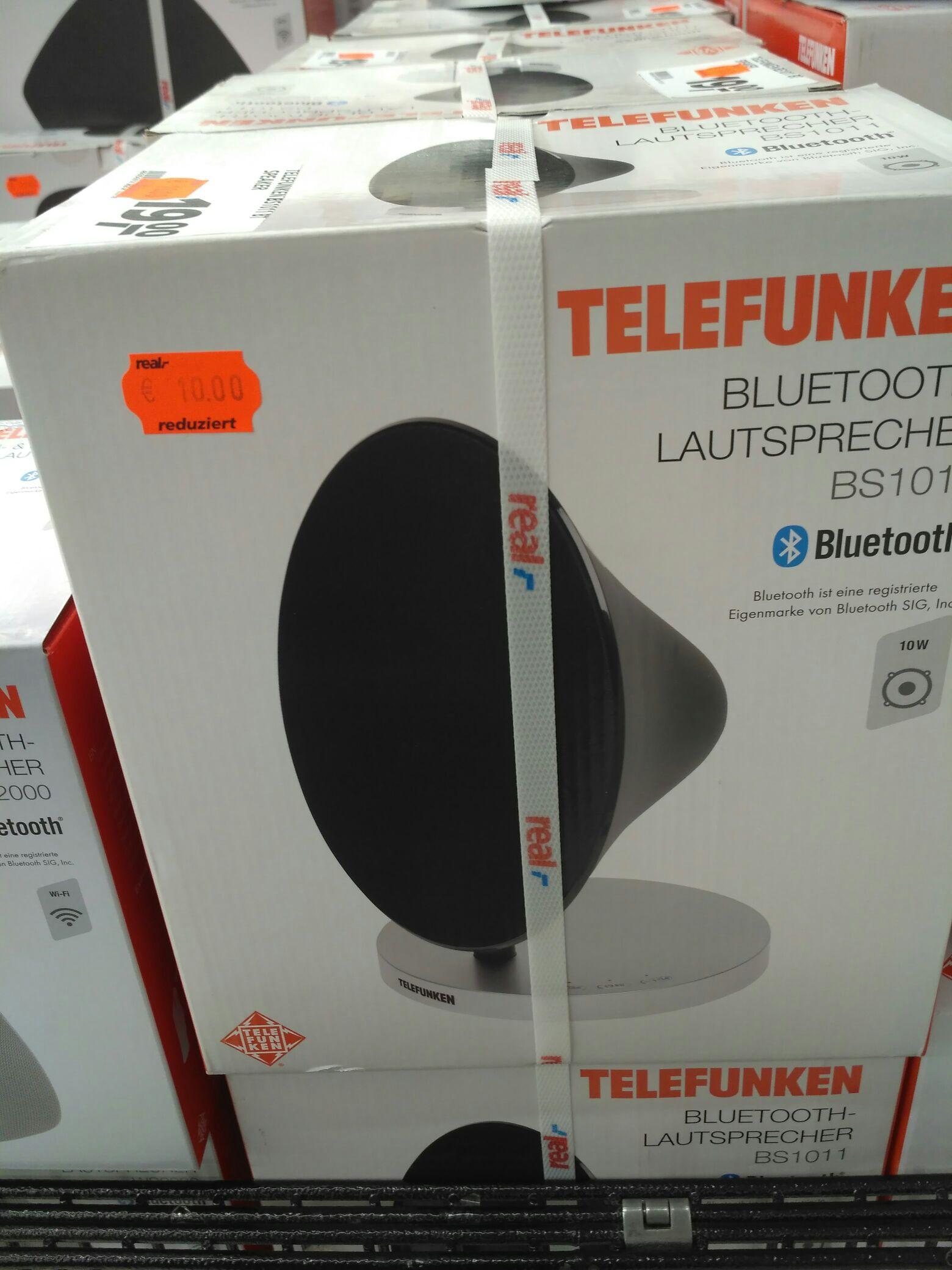 Lokal Würzburg real Bluetooth Lautsprecher 50% reduziert