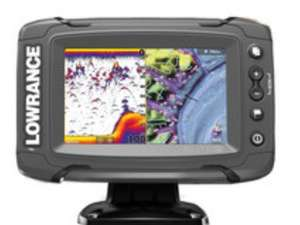 Lowrance Elite 5 Ti Touch mit TotalScan Geber