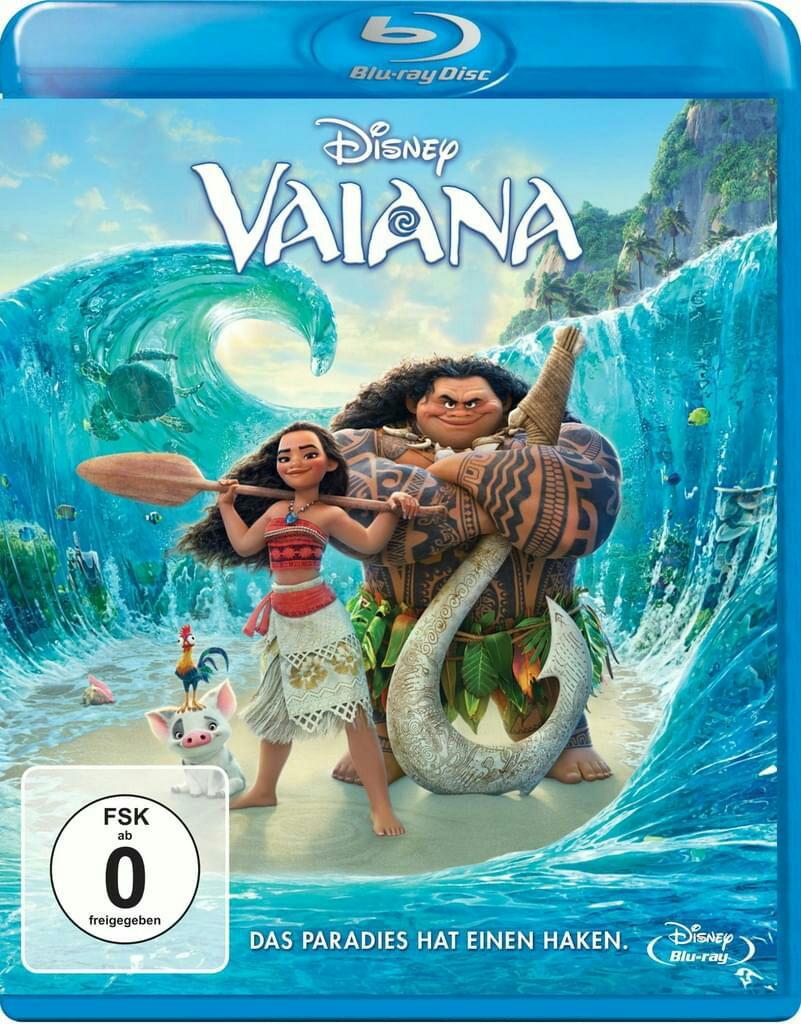 Vaiana / Moana Blu-ray Disney (2016)