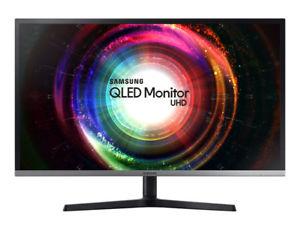 "Samsung QLED 32"" UHD-Monitor U32H850UMU LED ""MESSEWARE"""