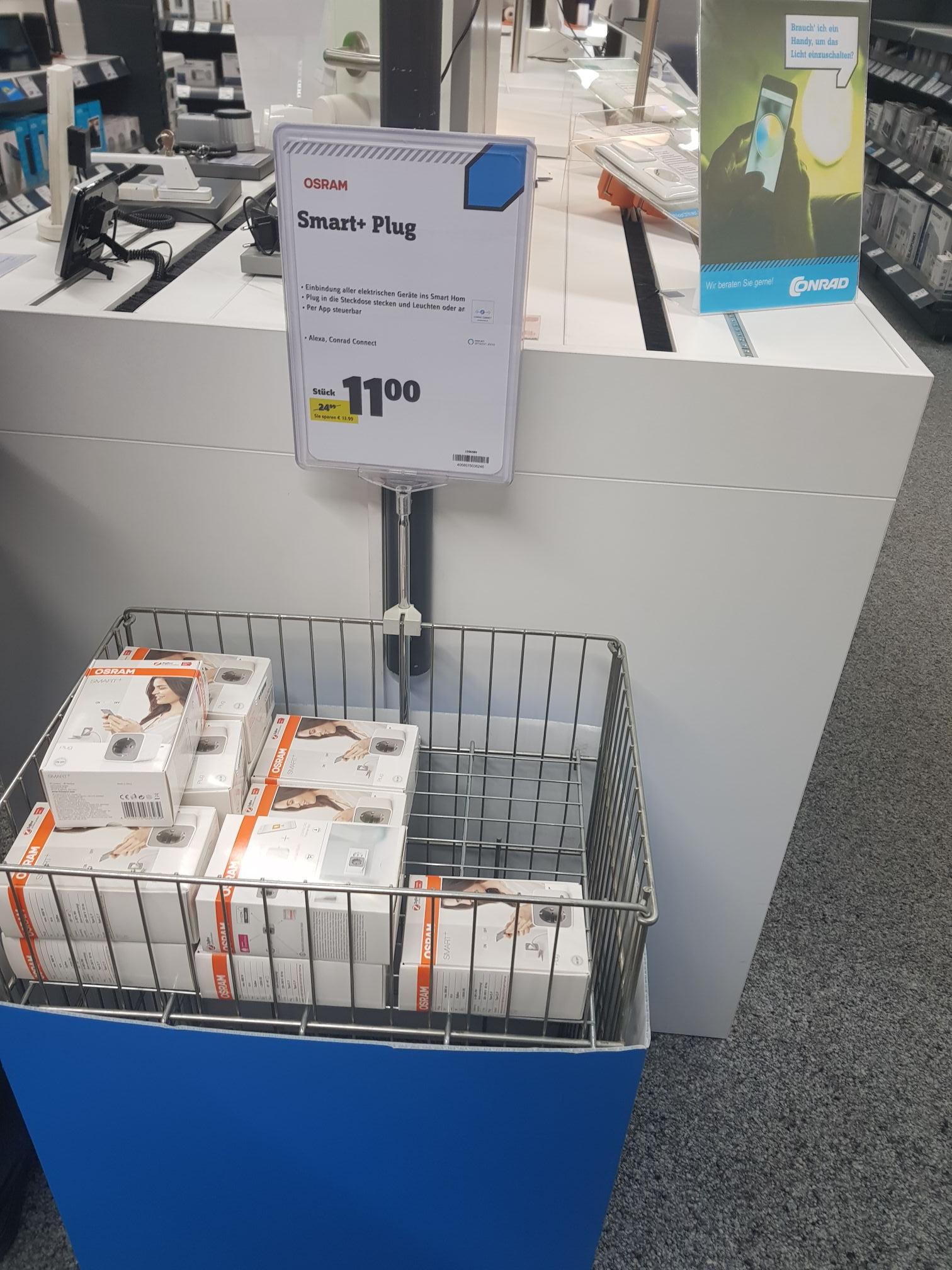 (Lokal) Conrad Bonn Osram Smart+ Plug Alexa und Hue kompatibel