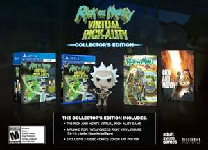 Rick & Morty: Virtual Rick-ality Collector's Edition (PS4) für 25,37€ (Amazon.com)
