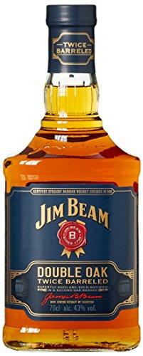 Jim Beam Double Oak Bourbon Whiskey (1 x 0.7 l)  - Blitzangebot bis ~23:35