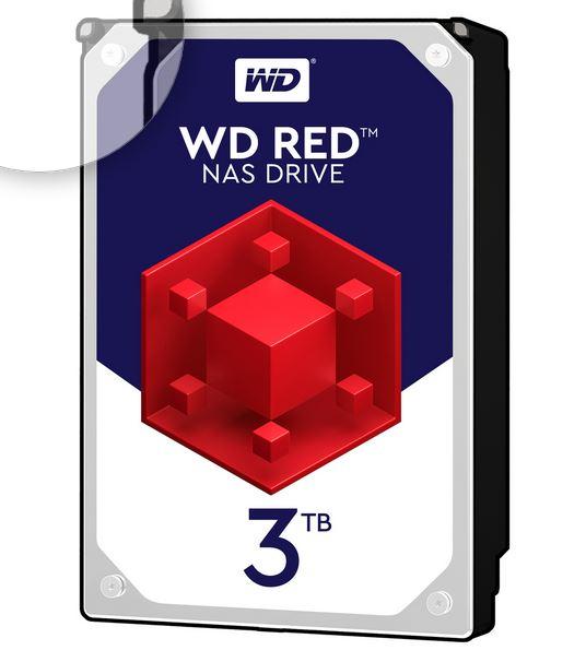 Festplatte WD Red 3TB 3,5 Zoll für 75,- Euro mit Masterpass