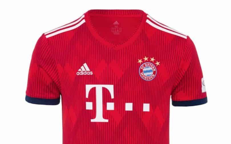 FC Bayern München Herren Heim Trikot 18/19