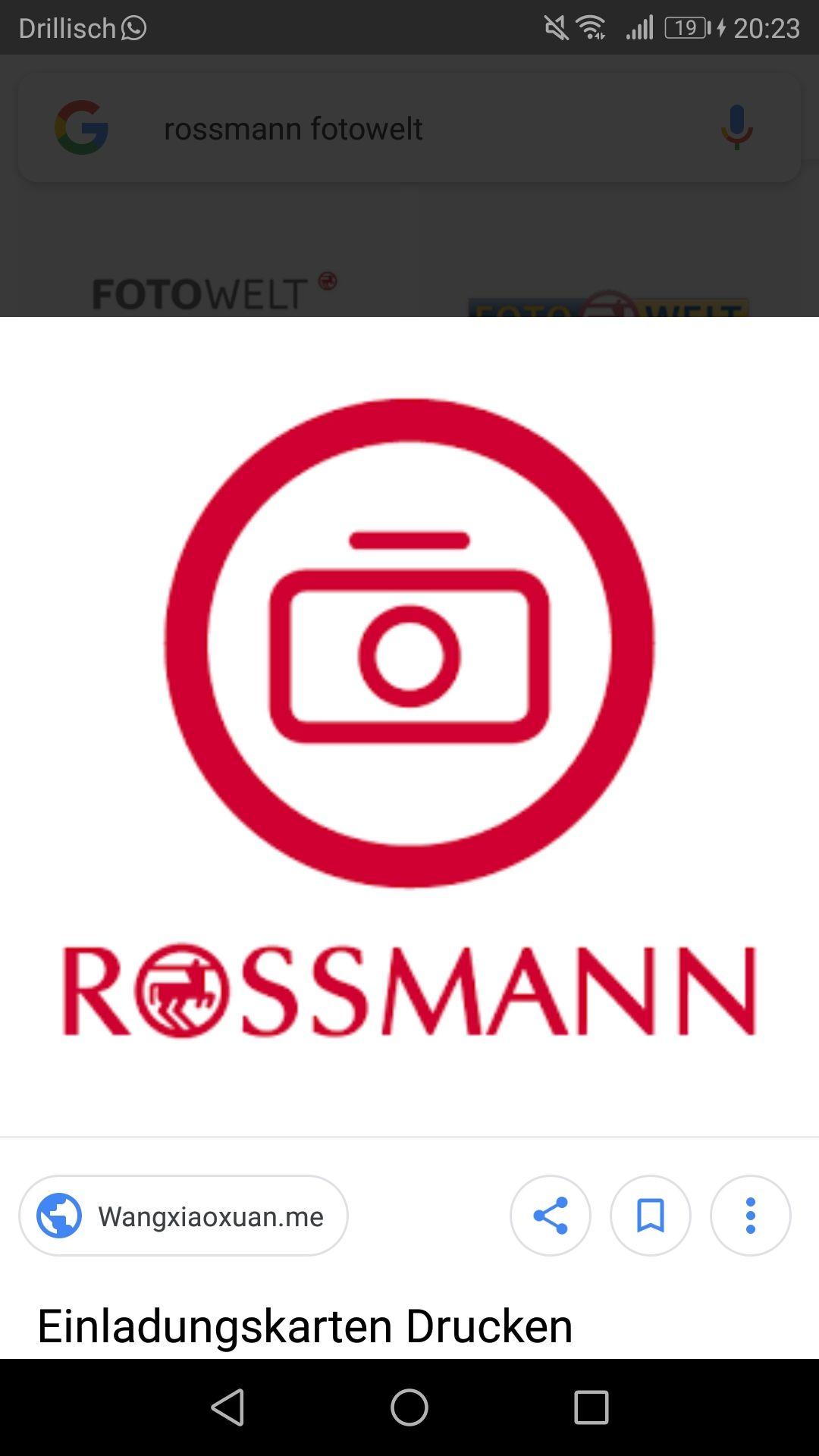 [Rossmann] 5 Euro Spar-Coupon auf Foto-Leinwand