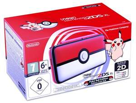 New Nintendo 2DS XL Pokéball Edition für 102,99€ inkl. Versand III   99€ bei Abholung Raum Neuss