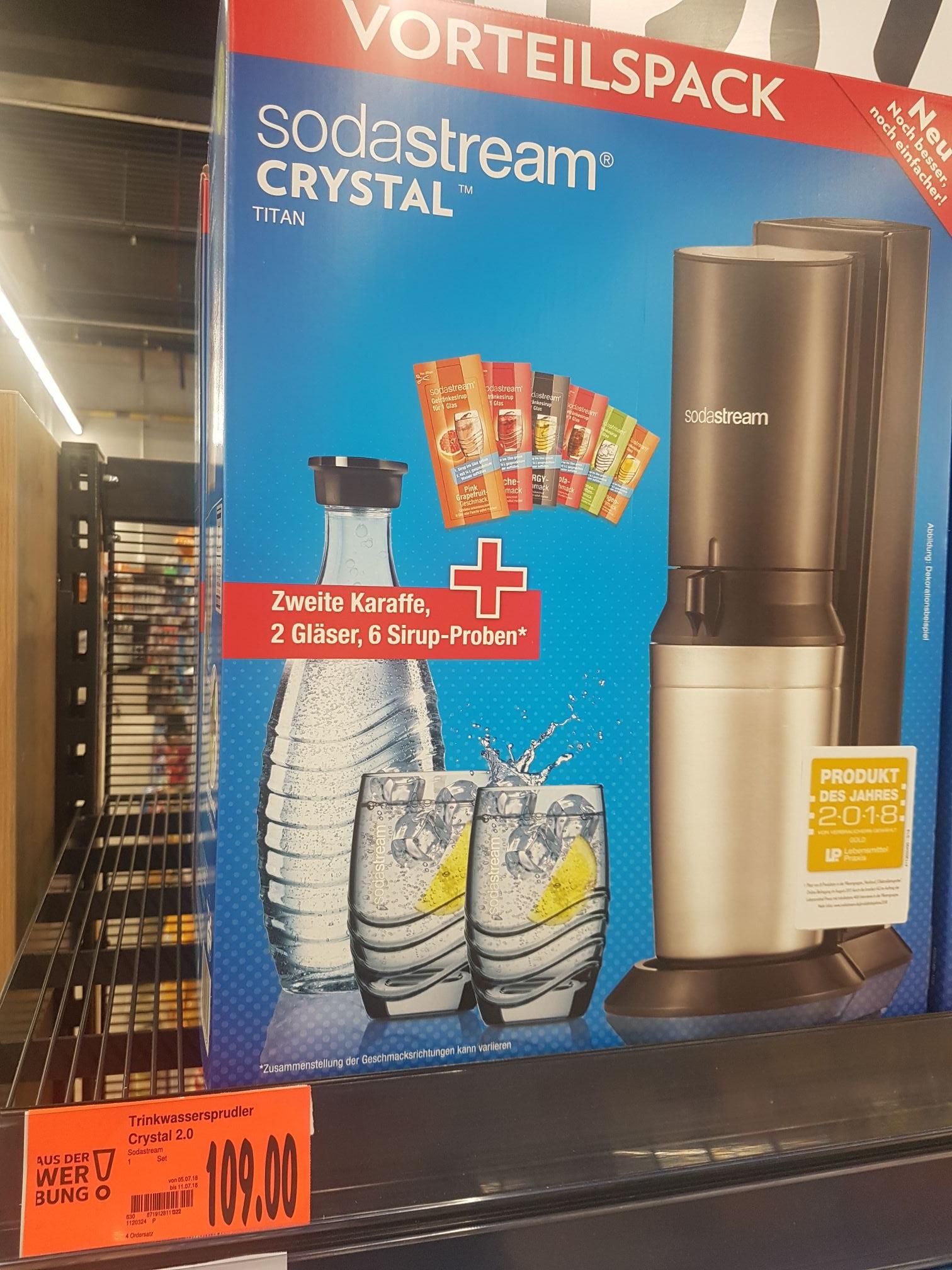Sodastream Crystal (Vorteilspack)
