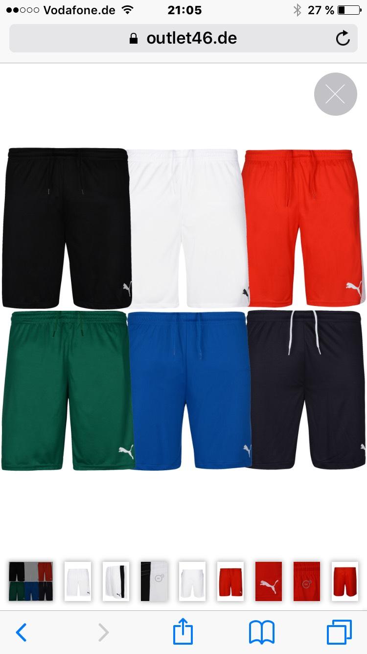 PUMA Fußball-Shorts mit Innenslip Trainingshose Sportshorts Outlet46