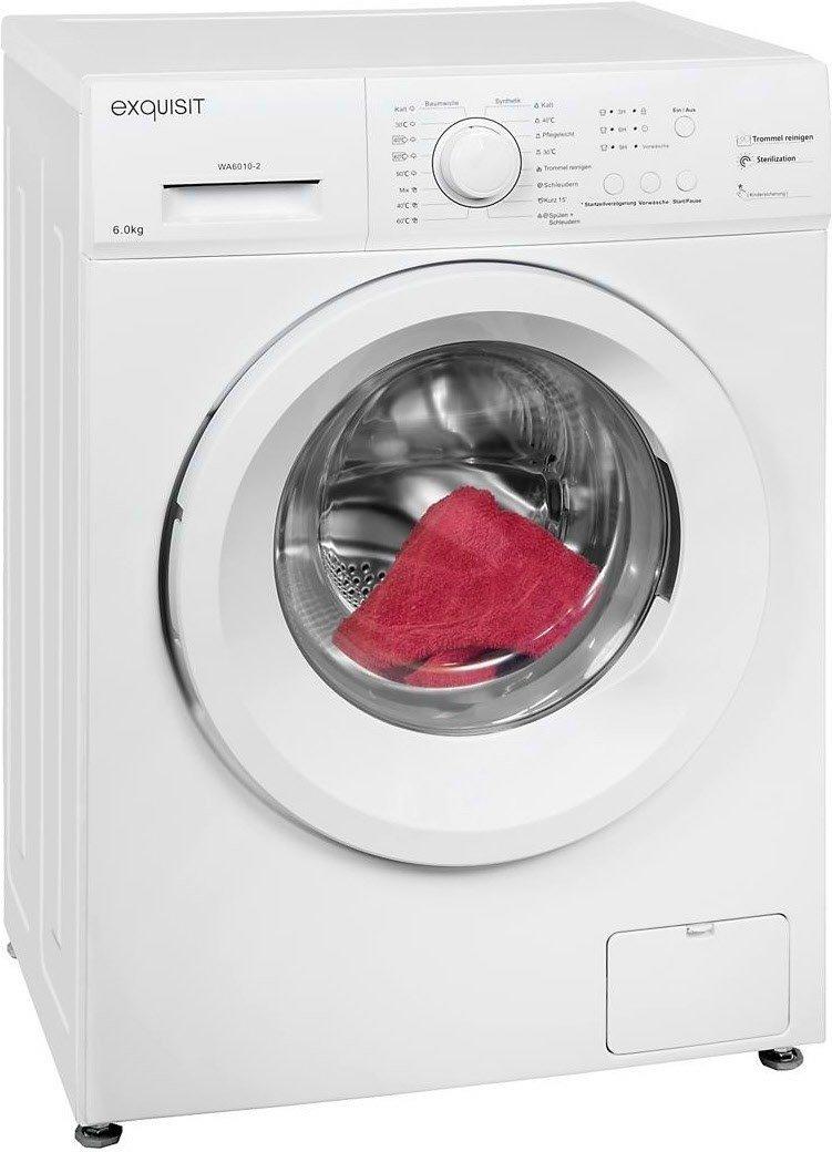[Egelsbach] Exquisit Waschmaschine WA6010-3 A++ für nur 169€ [Rewe Center]