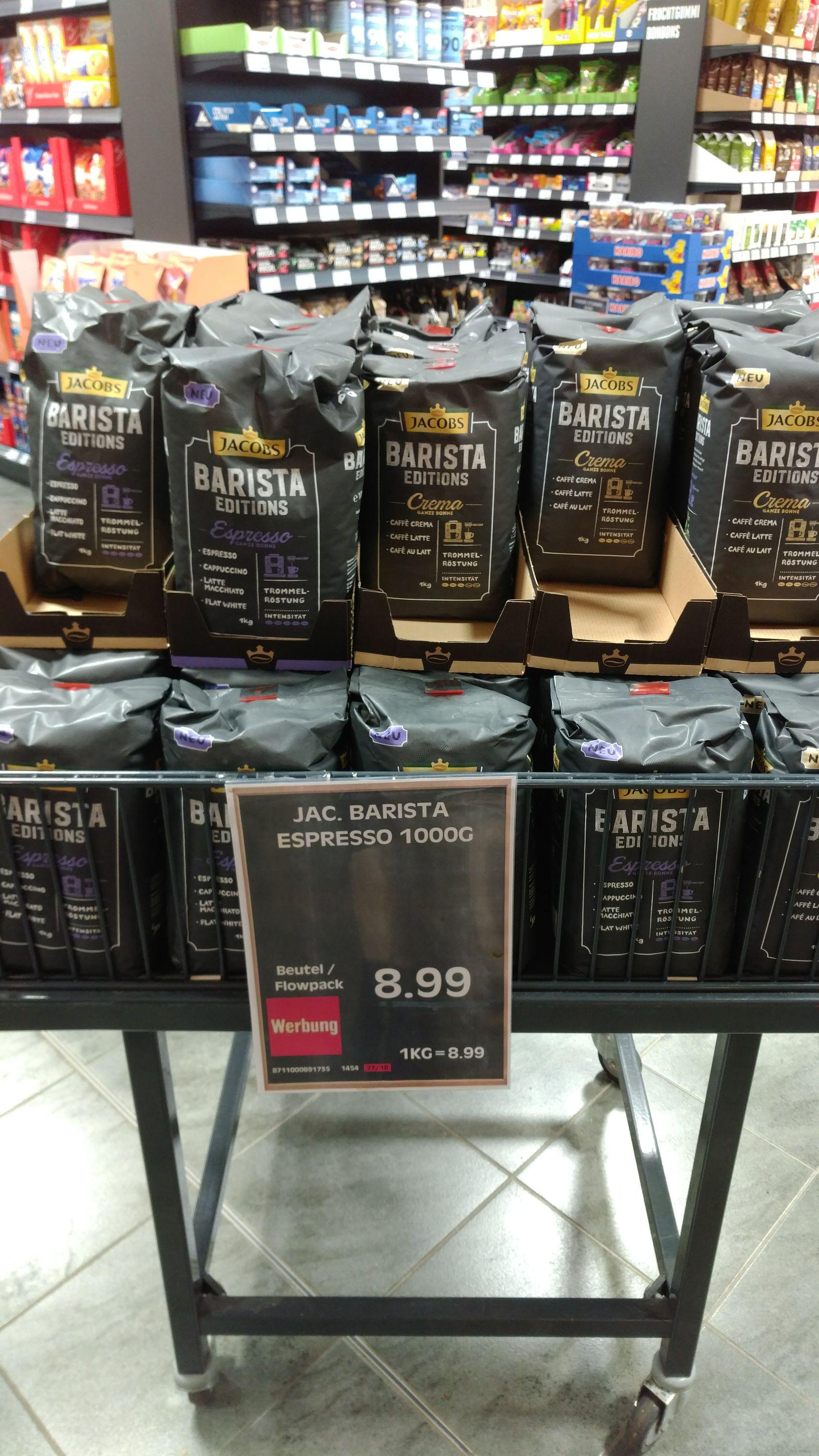 Jacobs Barista Editions Crema & Espresso *Lokal*
