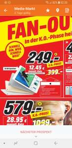 [Lokal] Media Markt Bremen] iPad (2017) 32GB (Silber / Gold)
