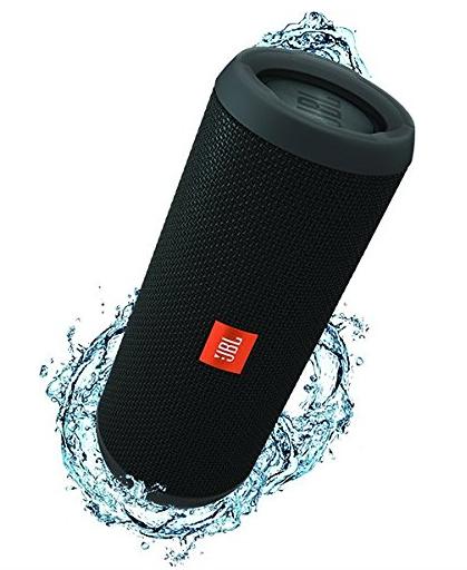 JBL Flip 3 Spritzwasserfester Tragbarer Bluetooth-Lautsprecher (Amazon)
