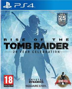 Rise of the Tomb Raider: 20 Year Celebration (PS4) für 17,47€ (Amazon UK)
